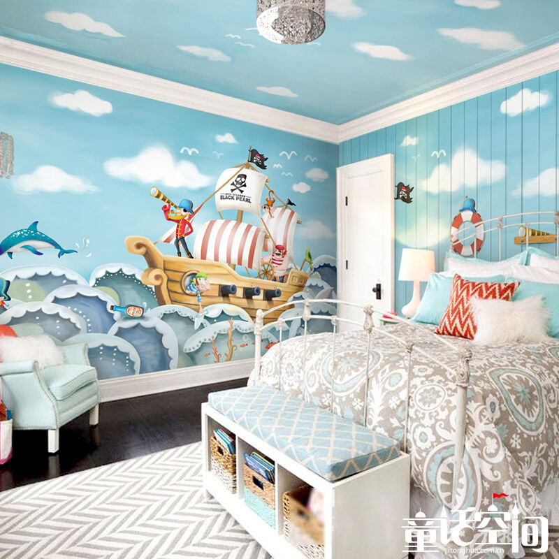 3D Offshore Sailing 743 WallPaper Murals Wall Print Decal Wall Deco AJ WALLPAPER