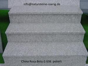Treppen-G-636-Granit-China-Rosa-Beta-Marmor-Sandstein-Padang-Cristal-China-poli