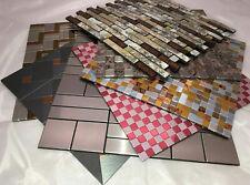 Easy Fit Tiles - DIY self adhesive peel & stick mosaic decorative wall tiles.
