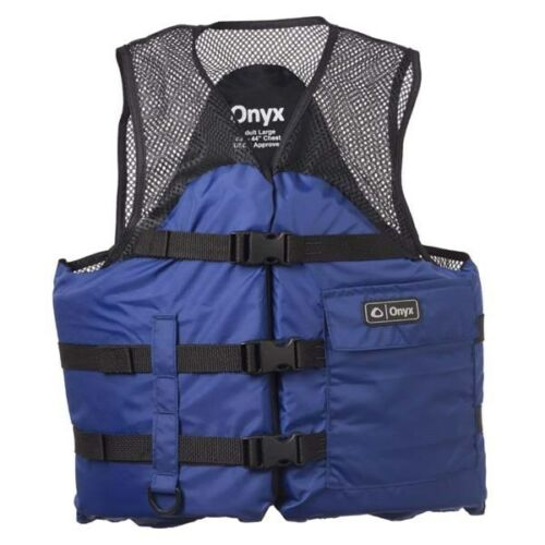 2XL Onyx Mesh Classic Sport Fishing Vest