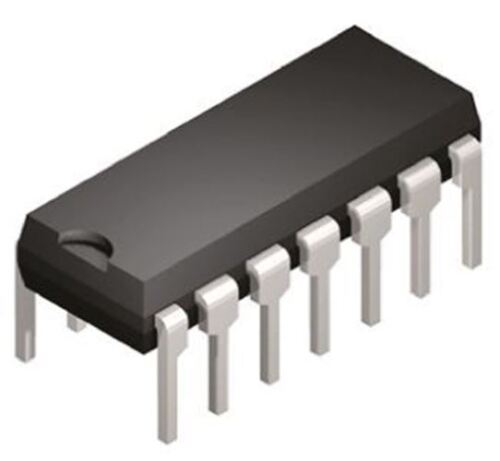 Single Ended Inpu 12-bit Serial ADC Pseudo Differential Microchip MCP3204-CI//P