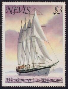 NEVIS-1980-Windjammer-S-V-Polynesia-3-P12-Sc-117-MNH-S3314