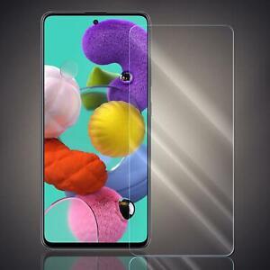 Panzer Displayschutz Folie für Samsung Galaxy A71 Schutzglas Glasfolie 9H