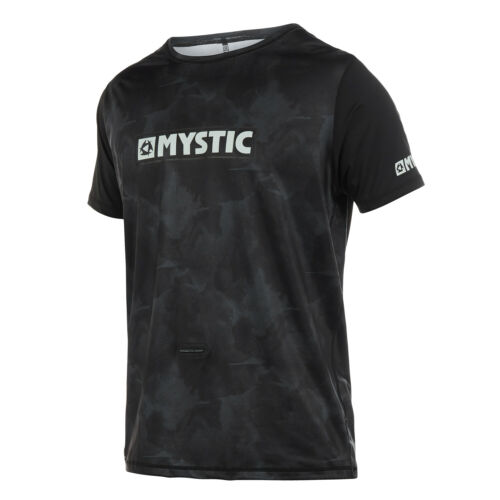 Mystic Majestic Short-Sleeve Loosefit Rash Vest 2020 Black