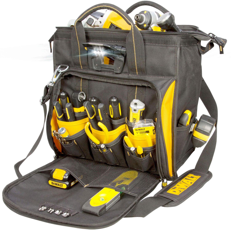 CLC DGL573 Lighted Technician's Tool Bag