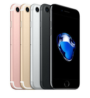 "Apple iPhone 7 128GB ""Factory Unlocked"" 4G LTE iOS WiFi Smartphone"