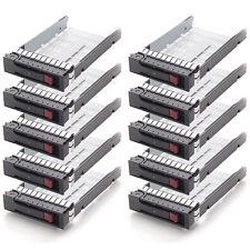 "Lot10 PCS 3.5"" LFF SAS Drive Tray Caddy for HP 373211-002 ML350 G6 DL160 G5 New"