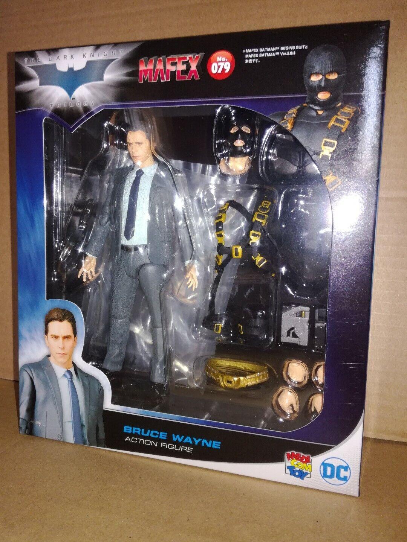 Medicom Mafex 079 Batman Begins Bruce Wayne The Dark Knight Rises DC Comics 79 ,