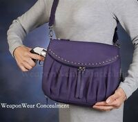 Gun Tote'n Mamas Purple Uptown Concealed Carry Concealment Holster Purse