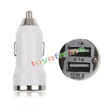 Mini Doppel 2 Anschlüsse USB CarChargerFor iPhone4 5C5s 4s SamsungS2 S3S5 HTC M7
