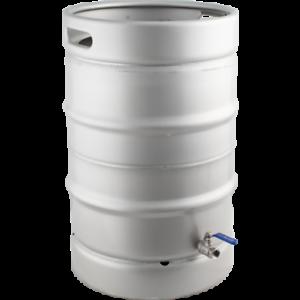 Stainless-Steel-Converted-Keg-Brewing-Kettle-Keggle-15-3-gal-w-Valve-Beer
