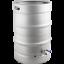 Stainless-Steel-Converted-Keg-Brewing-Kettle-Keggle-15-3-gal-w-Valve-Beer thumbnail 1