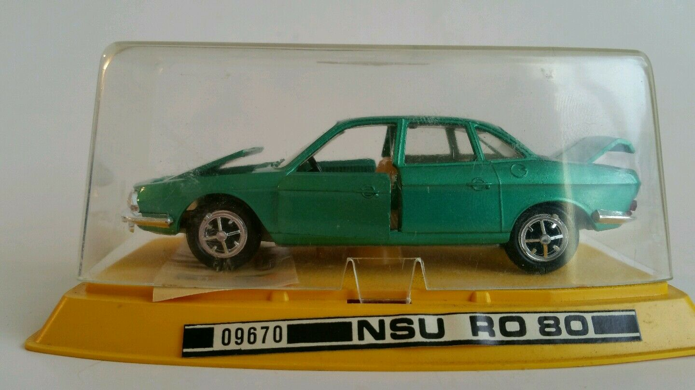 Gama Mini NSU RO 80 échelle 1 43 Die-Cast, Neuf, Made in W. Germany