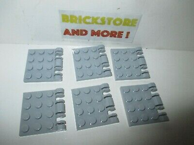 Lego 2x Charnière hinge Plate plaque 3x4 locking 44570 White//Blanc//Weiss