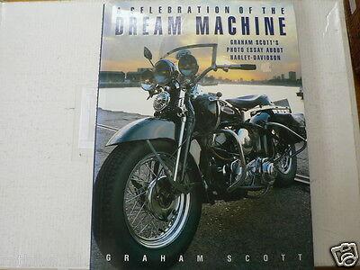 100% Verdadero Dream Machine About Harley-davidson Graham Scott's Picture Book Motorcycles
