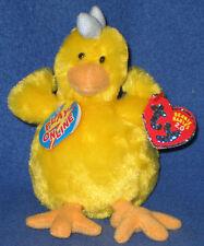 c27ccd3aa97 Ty Beanie Baby 2.0 Henley The Chicken 6 Inch MWMT S Stuffed Animal ...