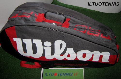 Portaracchette WILSON  LINEA  PRO STAFF da 12-Sped.incl