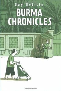 The-Burma-Chronicles-by-Delisle-Guy-Hardback-Book-The-Fast-Free-Shipping