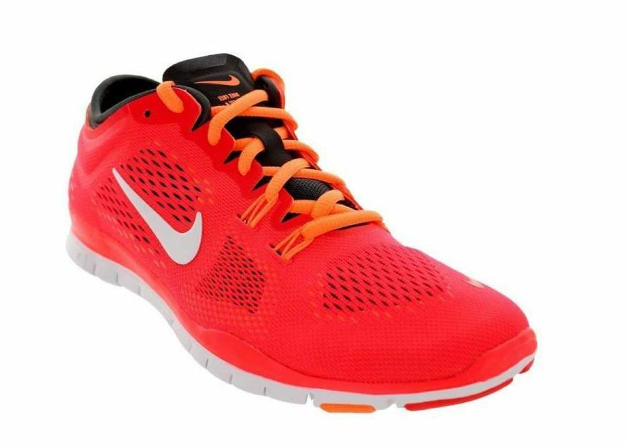 NEW Women's Nike Free 5.0 TR Fit Fit Fit 4 - Lsr Crmsn White-Drk Bs Gry in SIze 7.5 fb30aa