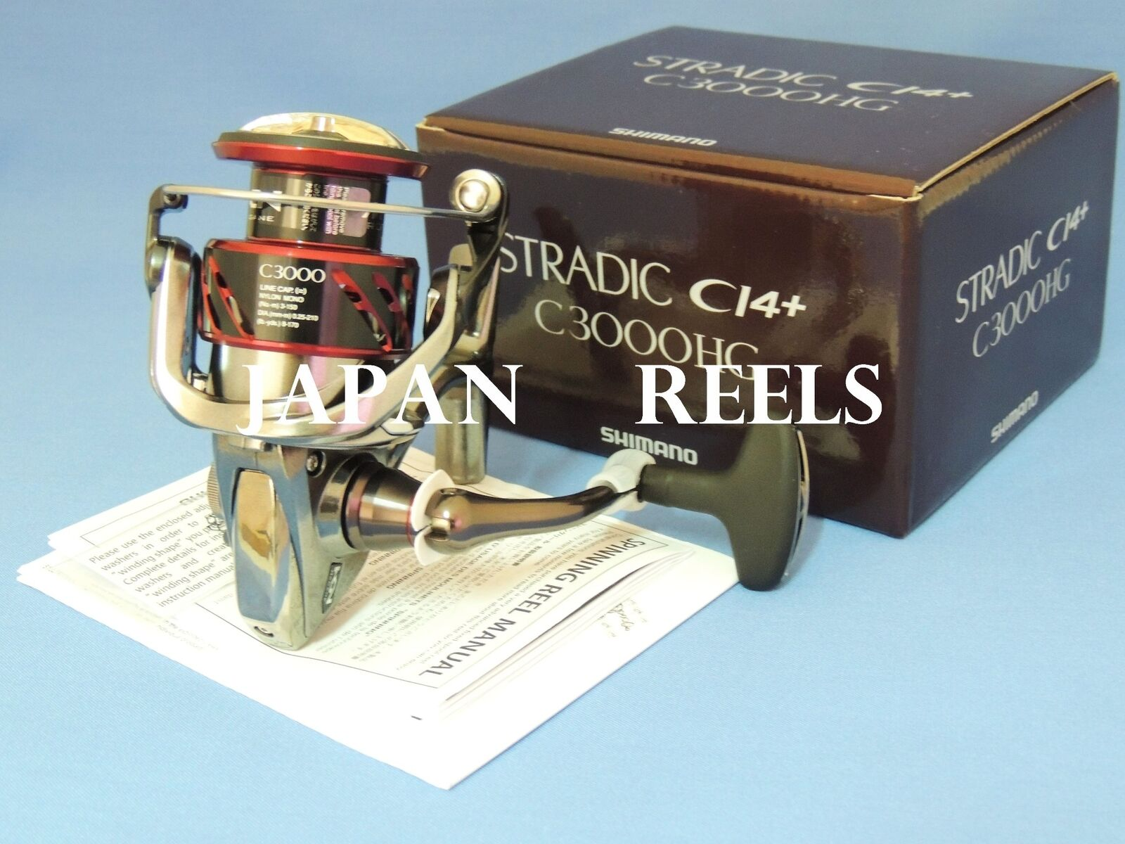 NEW SHIMANO 16 STRADIC  CI4+ C3000HG FB C3000 HG FB REEL 1-3 DAYS FAST DELIVERY  great offers