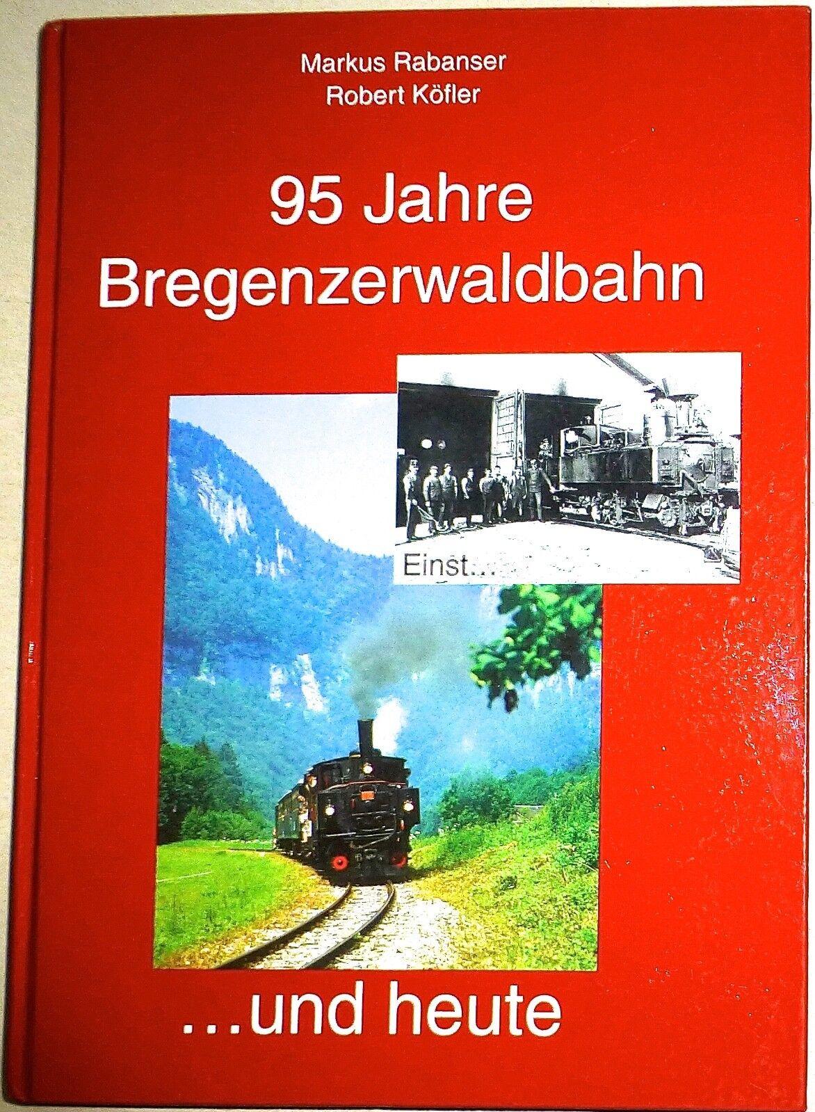 95 ANNI bregenzerwaldbahn registrazione e oggi RABANSER köfler MUSEO TRENI HG4