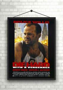 Die Hard 2 Classic Large Movie Poster Art Print Maxi A1 A2 A3 A4 A5