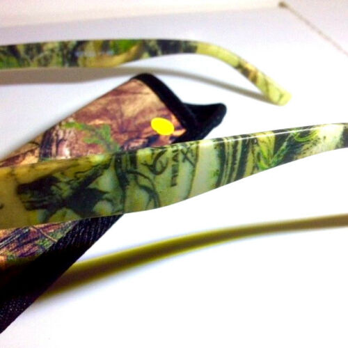 2 pair Special REALTREE CAMO Reading Glasses FREE CASEs