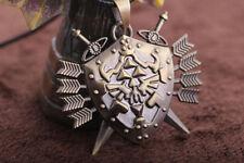 Legend of Zelda Link Hylian Shield Links Logo Necklace Cosplay Metal Pendant