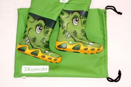 CROCODILES LIGHT GREEN  Fishing bots splash Kids Chest Waders 3KAMIDO