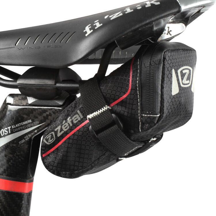 Zefal z light pack de siège imperméable-petits et bicyclette petites x selle pour bicyclette et rail mount e3351b