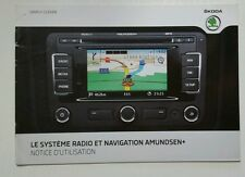 Skoda Le Systeme Radio et Navigation Amundsen + 05/2011 French //00100