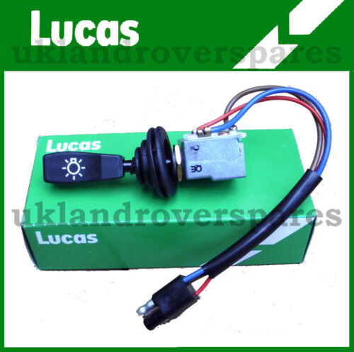 "MAIN LIGHT SWITCH /""OEM LUCAS/"" PRC3430 LAND ROVER DEFENDER 90 /& 110 MASTER"