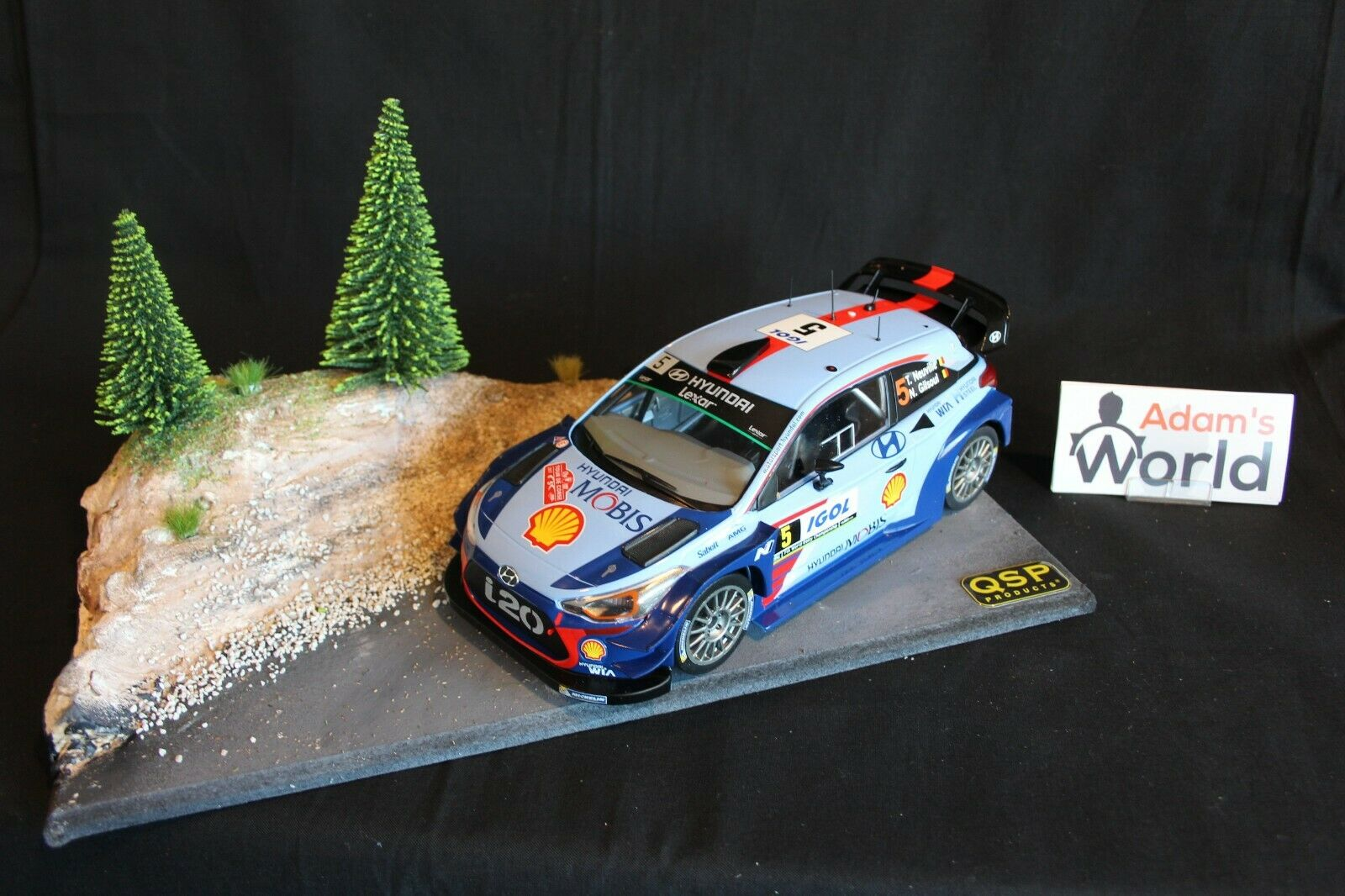 QSP Diorama 1 18  Rallye stage type 1  Achetez maintenant