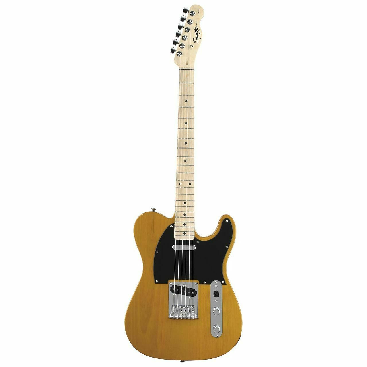 This Squier Telecaster electric guitar is for sale - SQUIER Affinity TELECASTER IN Butterscotch Blonde - E-Guitar