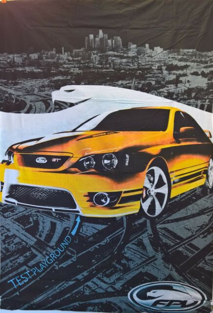 Ford Fpv Gt P Boss  Falcon Queen Doona Quilt Cover Set