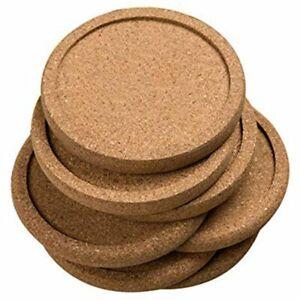 12Pcs-Lot-Plain-Round-Cork-Coasters-Set-Coffee-Cup-Mat-Drink-Tea-Pad-Placem-L5Z4