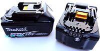 2 18v Genuine Bl1830b-2 Makita Batteries 3.0 Ah Fuel Gauge Replaced Bl1830