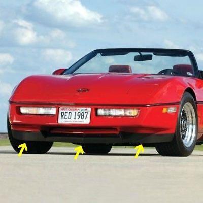 C4 Corvette Tail Light Louver Cover Kit Fits 84 Through 90 Corvettes