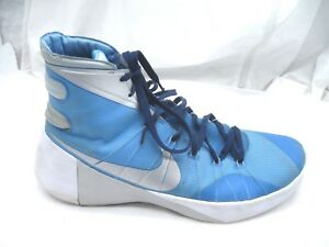 497be90ac9f Nike Hyperdunk 2015 TB blue silver basketball mens athletic shoes sz ...