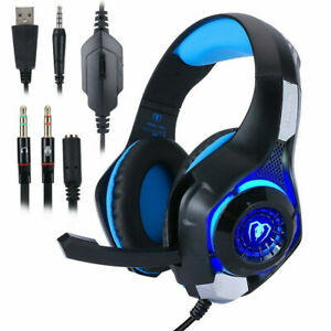 Headphones-for-PS4-Xbox-Nintendo-Switch-PC-3-5mm-STEREO-Mic-LED-Gaming-Headset