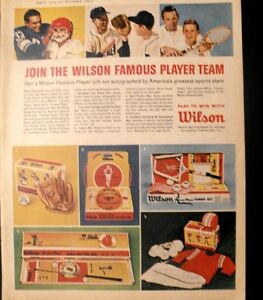 1963 Jack Kramer Wilson Tennis Memorabila Sports Photo Print AD