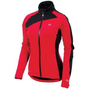 Pearl-Izumi-Women-039-s-Elite-WxB-Jacket-Waterproof-Rain-Jacket-Red-XS