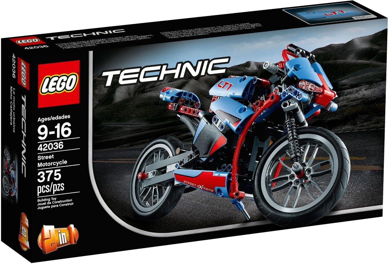 LEGO 42036 Technic Street Moto * NUOVO * NUOVO IN SCATOLA SIGILLATA SIGILLATO NON APERTO