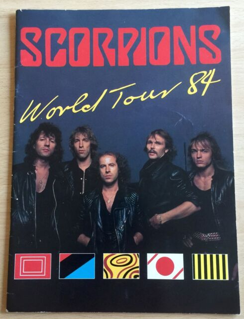 Scorpions - 1984 World Tour Programme