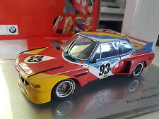 1/18 MINICHAMPS BMW 3.0 CSL 24h LE MANS ART CAR 80430150918 Alexander Calder