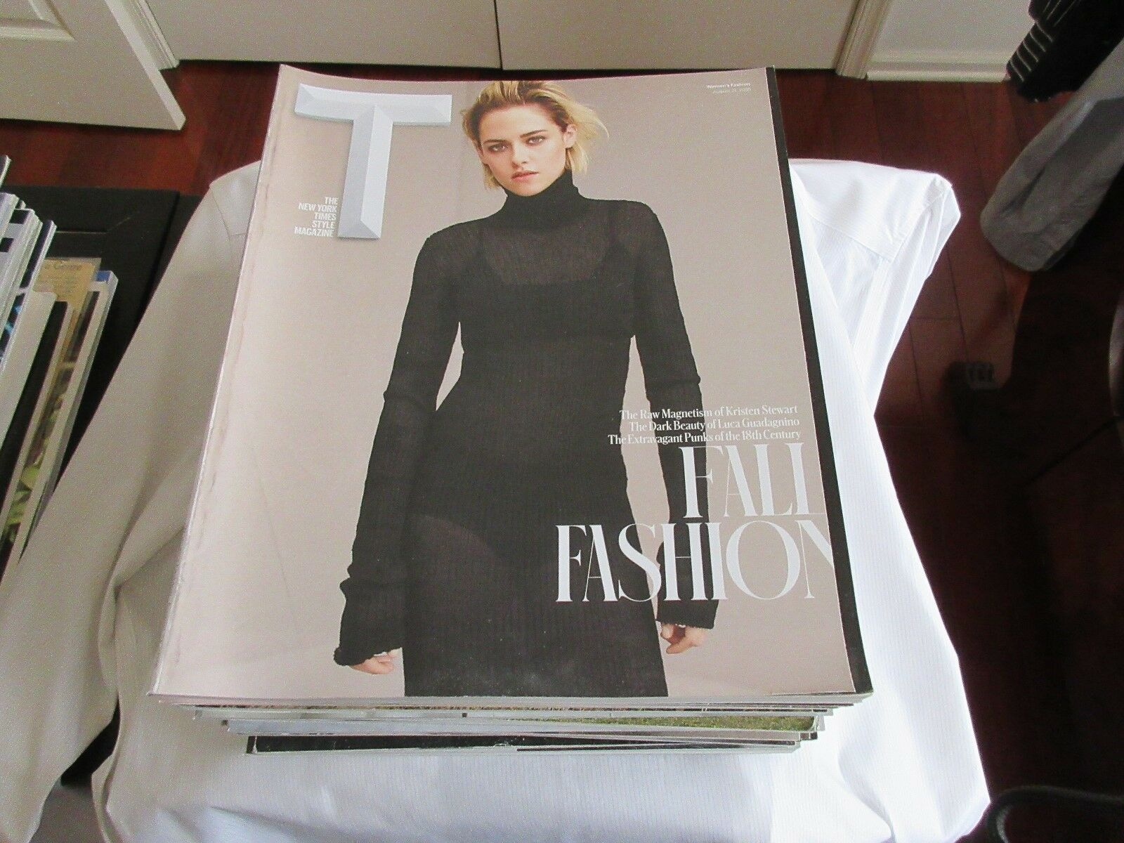 Fall Fashion , Kristen Stewart , New York Times Style M