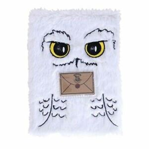 Harry Potter Hedwig A5 Plush Notebook Journal Book - Stocking Filler