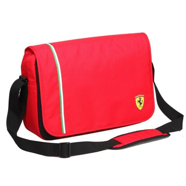 Ferrari Active Messenger Bag - Red