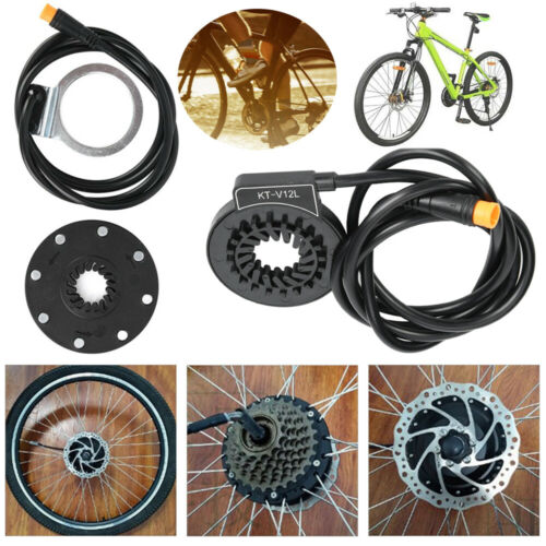KT-V12 8//12 Magnetic Point Power Sensor Connector E-Bike Bicycle Conversion Kit