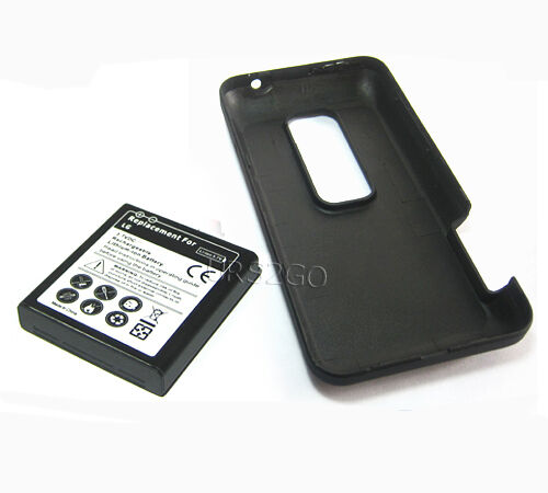 3840mAh High Power Extended Battery+Cover For Virgin Mobile HTC EVO V 4G Phone